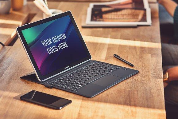 Laptop Display Mock-up #7