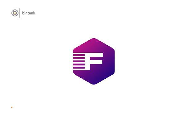 Hexagon F Logo