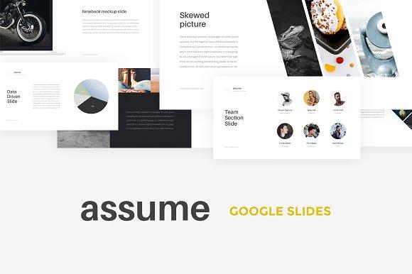 Assume Google Slides Template