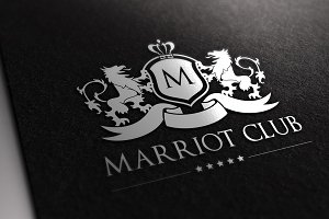 Marriot Club Logo Template