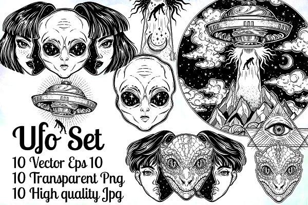 UFO Set.