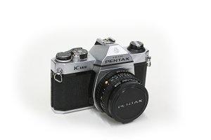 Vintage Camera Pentax K1000 front