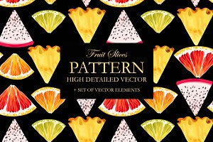 Fruit Slices Pattern