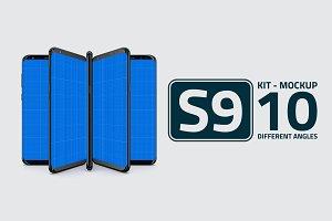 S9 Kit Mockup