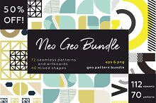 NEO GEO bundle. Geometry pattern.