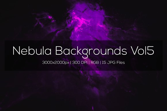 Nebula Backgrounds Vol5