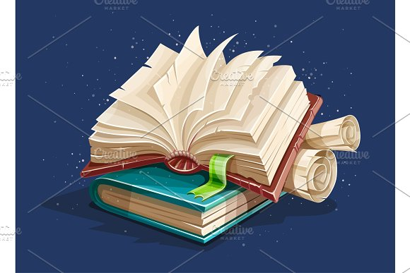 Magic Books Spreadsheet From Fairy Tale