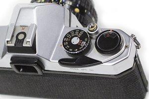Vintage Camera Pentax K1000 top
