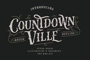 Countdown Ville Rough Extras
