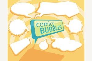Set of Comic Bubbles