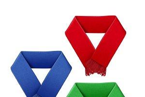Football fans scarf