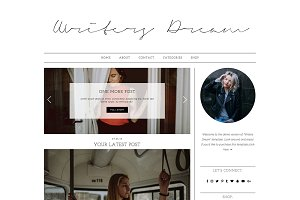 "Wordpress Theme ""Writers Dream"""