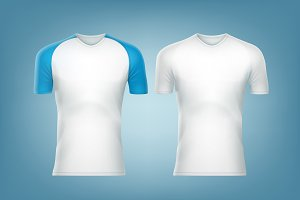 Two raglan t-shirts