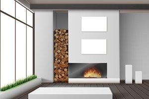 Eco-minimalist style room
