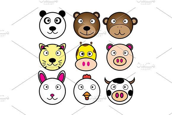 Vector Of Animals Cartoon