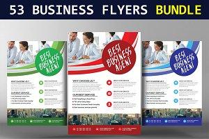53 Business Flyers  Bundle