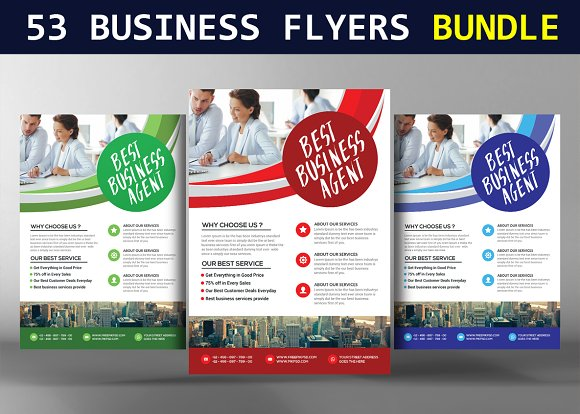 53 Business Flyers Bundle
