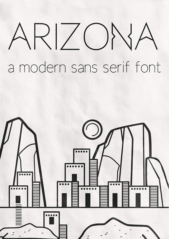 Arizona A Modern Sans Serif