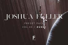 Joshua Fuller Presets Vol.05  by  in Actions