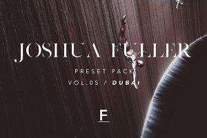 Joshua Fuller Presets Vol.05