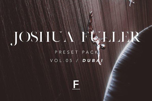 Actions: Joshua Fuller  - Joshua Fuller Presets Vol.05