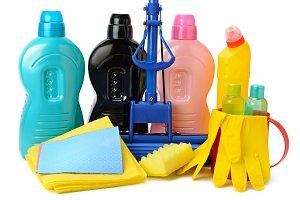 Cleaner for bath, toilet, kitchen