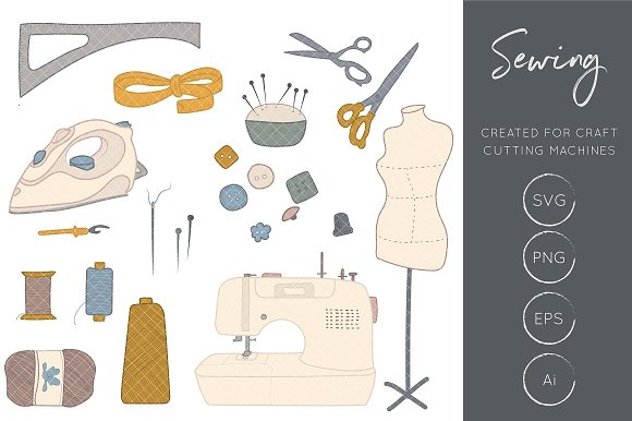 Sewing Clipart Craft Clipart