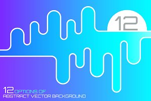 12 Abstract vector backgrounds