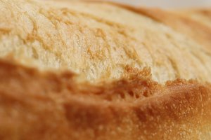 Crust of Bread Food Background