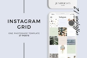 Instagram Grid Template