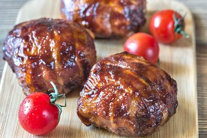 Bacon meatballs