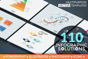 110 Infographic Solutions. Part 1