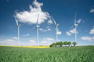 Wind power station