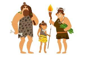 Stone age family