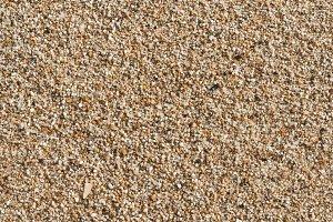Beach sand texture close-up