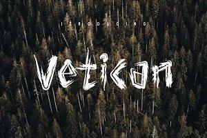 Vetican Brush Font