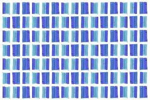 Blue Bubble Gum Pattern