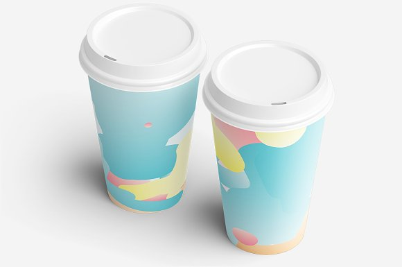 Simple Bounce 20 Pastel Backgrounds in Illustrations - product preview 2