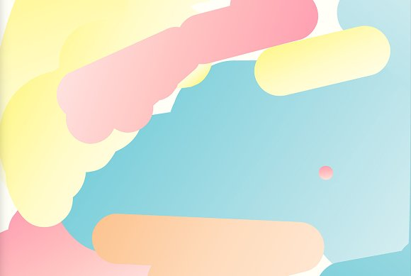 Simple Bounce 20 Pastel Backgrounds in Illustrations - product preview 3
