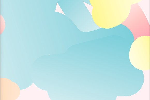 Simple Bounce 20 Pastel Backgrounds in Illustrations - product preview 5