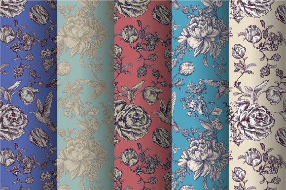 Vintage Roses Patterns