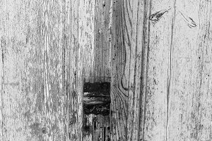 Vintage Paint Door Black and White