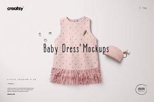 Baby Dress Mockup Set 8