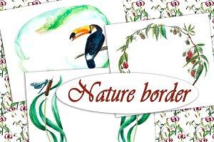 Nature border
