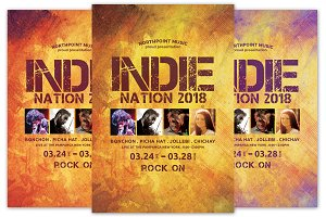 Indie Nation Flyer