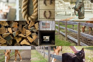 Rustic Farm Photos – Bundle