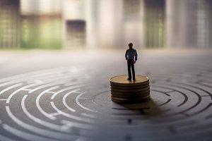 Miniature, Business Vision Concept