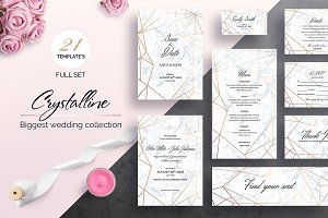 Crystalline Wedding Collection