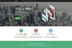 Expose - Single Page Website Tempate