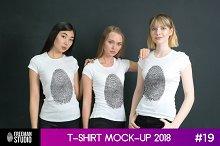 T-Shirt Mock-Up 2018 #19